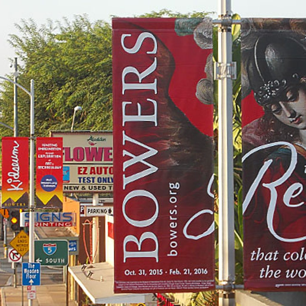 Outdoor Advertising for Art and Cultural Events and Exhibits